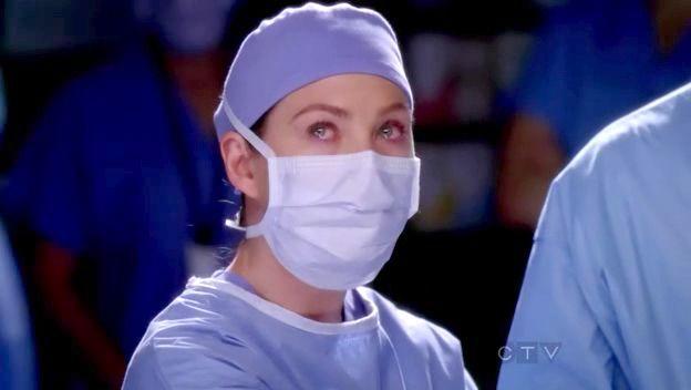 ¿Por qué llora Meredith en esta escena?