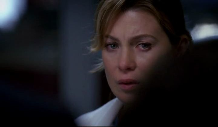 ¿Por qué Meredith está llorando en esta escena?