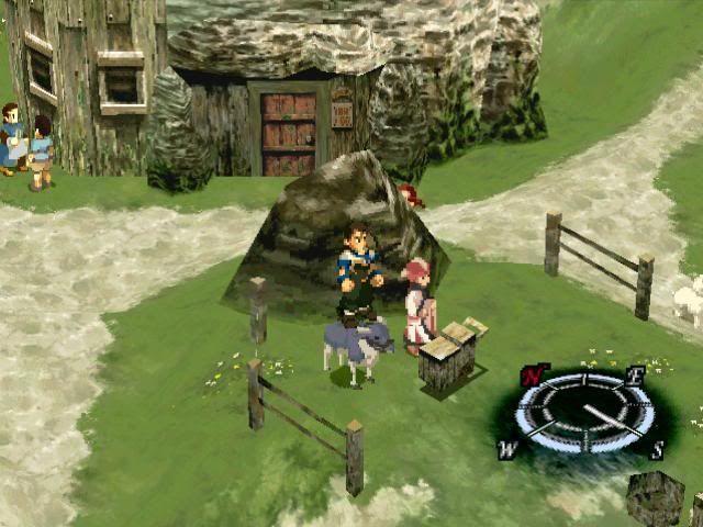 ¿Cuál es el nombre de la aldea en la que empieza el juego?