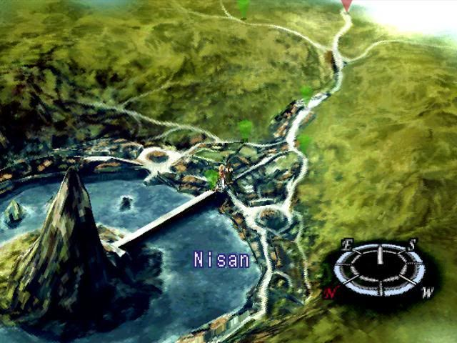 ¿En el disco 2 qué les pasa a los aldeanos de Nisan?