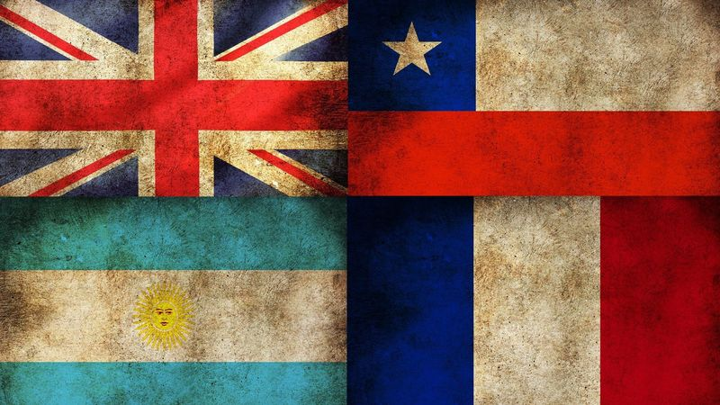 32347 - Antiguas banderas de países. Parte 2