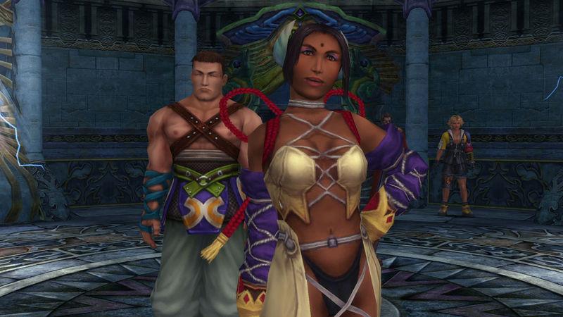 ¿Cómo se llama el guardián de la invocadora Dona, el cuál es también su pareja?