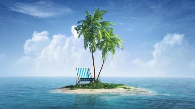 Has ayudado a tus padres y siguen tus instrucciones a rajatabla, pero los acabas llevando a una isla desierta.