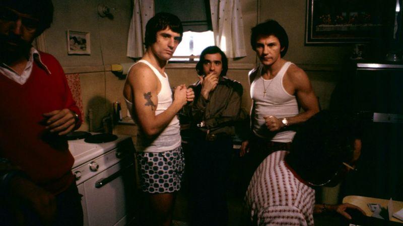 ¿Cuál es la primera película de Scorsese en la que aparece Robert de Niro?