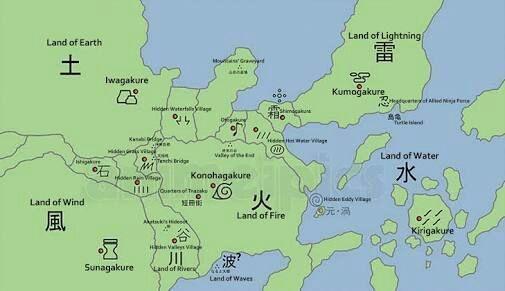 32453 - ¿A qué aldea de Naruto Perteneces?