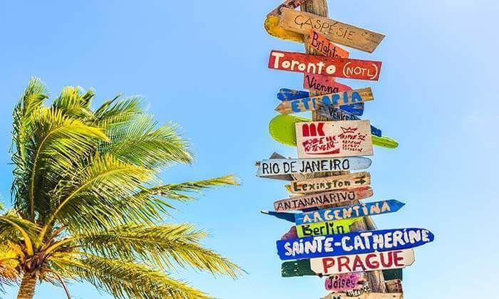 ¿Dónde irías de vacaciones?