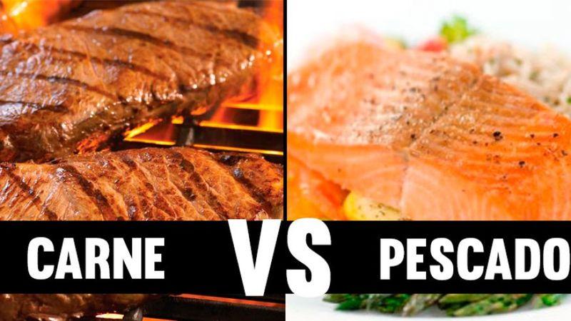 ¿Carne o pescado?