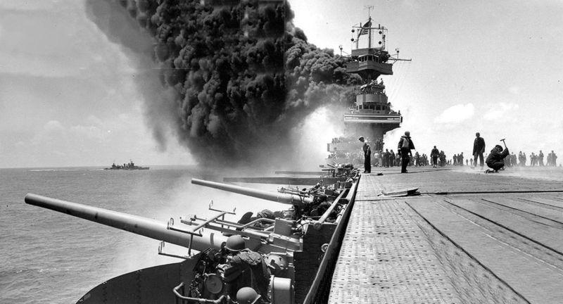 ¿Por qué la Batalla de Midway fue una contundentísima victoria Estadounidense?