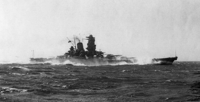 ¿Cómo fueron hundidos  Yamato y Musashi?