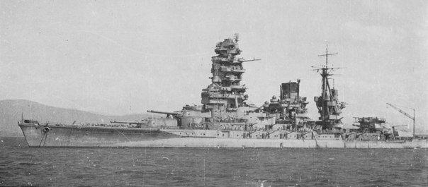 ¿Cual fue el final del acorazado japonés Nagato?