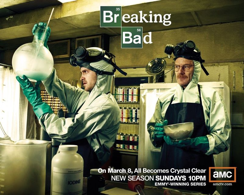 ¿Conoces la serie Breaking Bad?