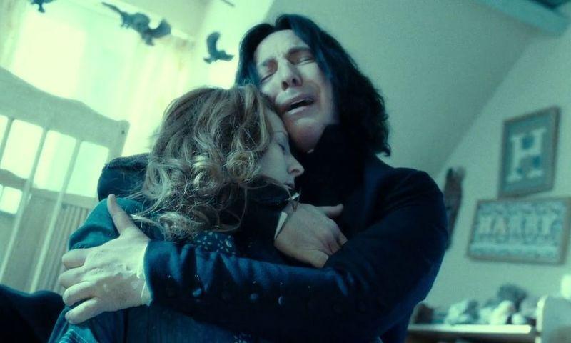 La historia de que Snape siempre fue un buen tío en el fondo ¿Planificado o Recurso literario?
