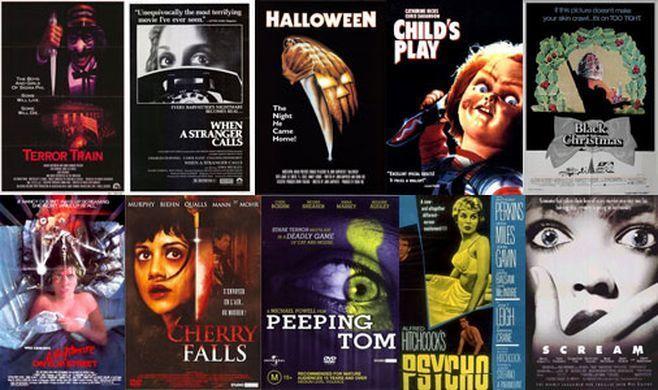 ¿Te gustan las películas de terror del tipo Slasher?