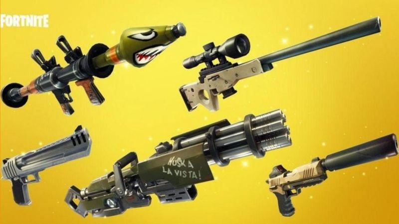 ¿Qué arma quieres encontrarte?