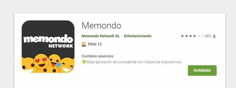 ¿Cuando accedes a la red de páginas de Memondo desde el móvil o tablet suele ser a través de la aplicación o de la versión web?