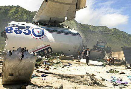 El comienzo de 'Perdidos', es decir, el accidente del vuelo Oceanic 815