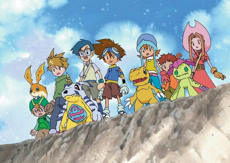 El final de la primera temporada de 'Digimon'