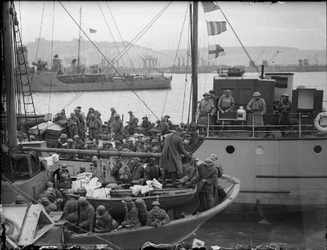 ¿Qué sucedió en Dunkerque?