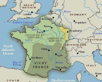 ¿Por qué Alemania instauró la Francia de Vichy?