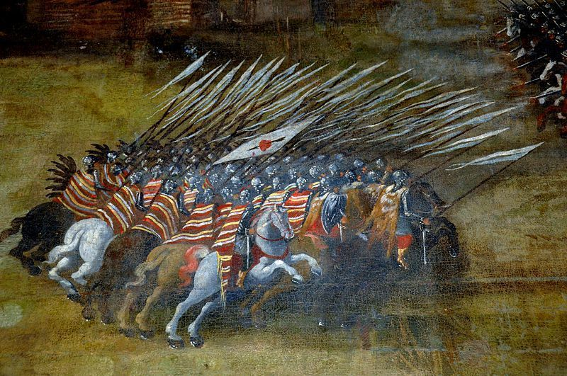 ¿Cuál fue la mayor carga de caballería de la historia?