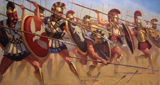 ¿Por quién estaba formado el Batallón Sagrado de Tebas?