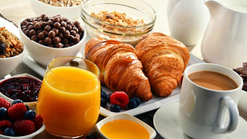 Para desayunar...
