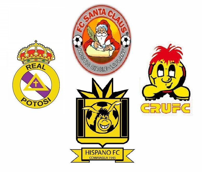 33383 - ¿Cuáles son escudos de clubes de fútbol y cuáles no?