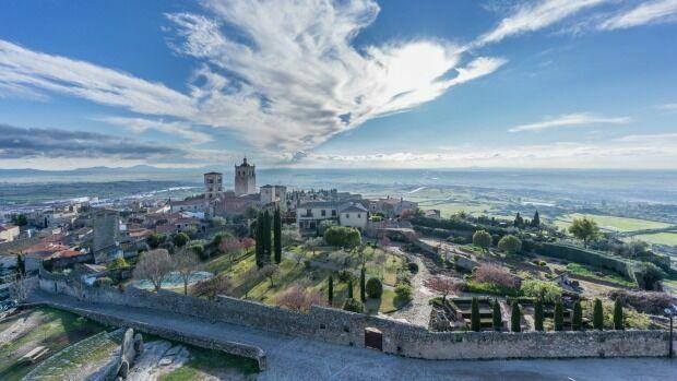 La festividad de la comunidad de Extremadura...