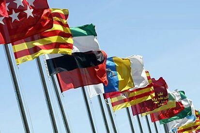 33397 - ¿Cuál es la bandera de cada comunidad autónoma de España?
