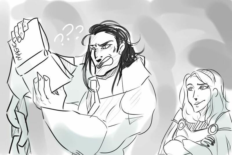 ¿Qué cosas empezaron a sembrar la duda en Sylas cuando trabajaba con los cazadores de magos?