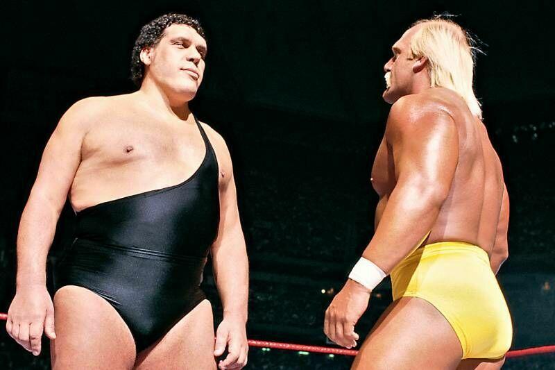 En esa misma noche se produjo algo increíble en el combate entre Hulk Hogan y André The Giant, ¿qué pasó?