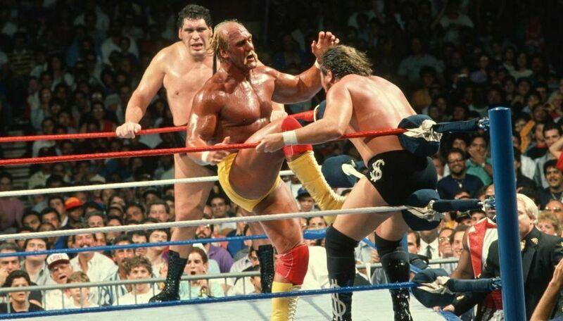 ¿Con quién hizo equipo Hulk Hogan para derrotar a The Mega Bucks (Ted dibiase y André the Giant) ?