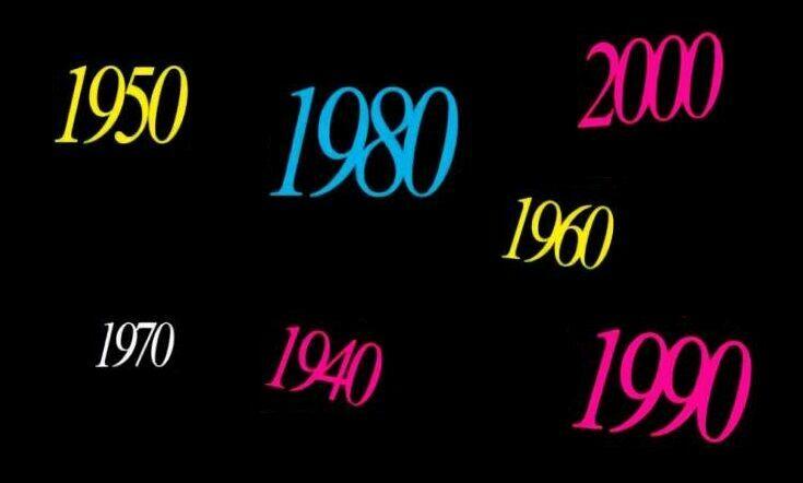33577 - ¿Nacieron en la misma década estos famosos y famosas?