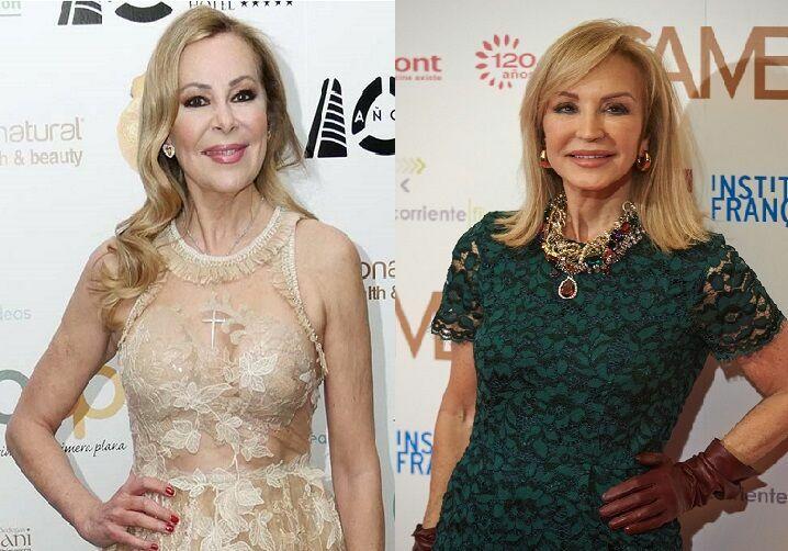 ¿Nacieron en la misma década Ana Obregón y Carmen Lomana?