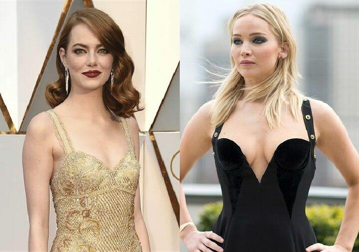 ¿Nacieron en la misma década las actrices Emma Stone y Jennifer Lawrence?