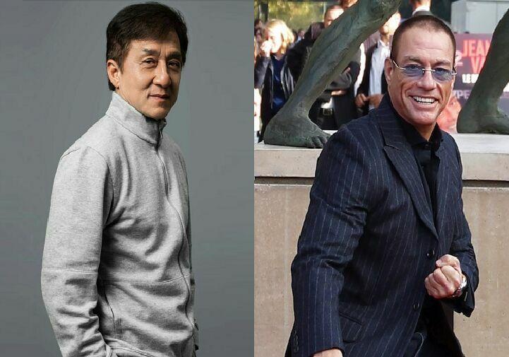 ¿Nacieron en la misma década los actores Jackie Chan y Jean-Claude Van Damme?