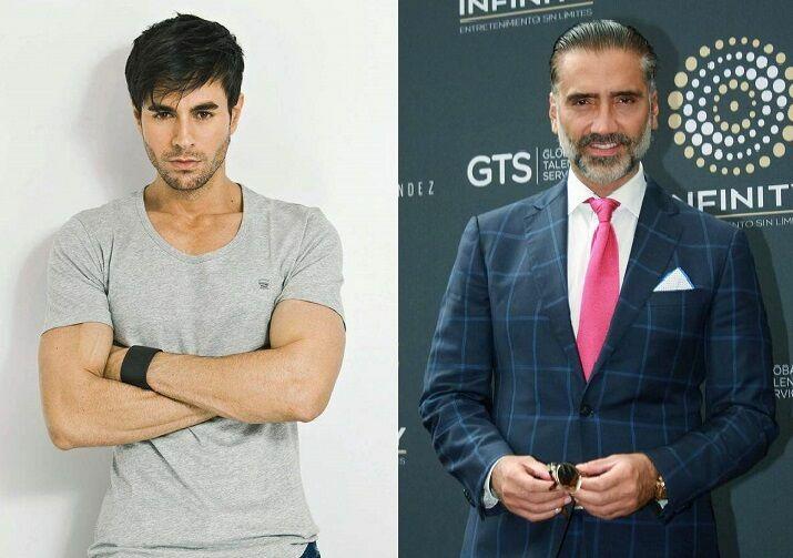 ¿Nacieron en la misma década los cantantes Enrique Iglesias y Alejandro Fernández?