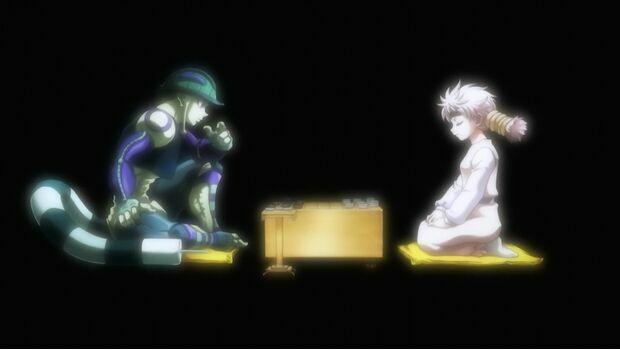 ¿Cómo se llama el juego de mesa que jugaban Meruem y Komugi?