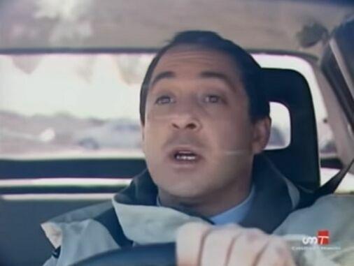¿Con quién iba Marcial cuando tuvo el accidente de coche que le costó la vida?