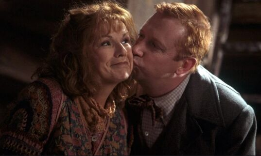 ¿Cuántos hijos e hijas tienen Molly Weasley y Arthur Weasley?