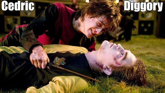 ¿Quién mató a Cedric Diggory en la cuarta película/libro?