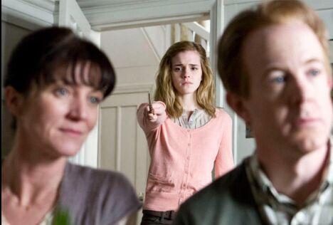 ¿Cuál es la profesión de los padres de Hermione Granger?