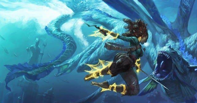 ¿Puedes lanzar hechizos bajo el agua?