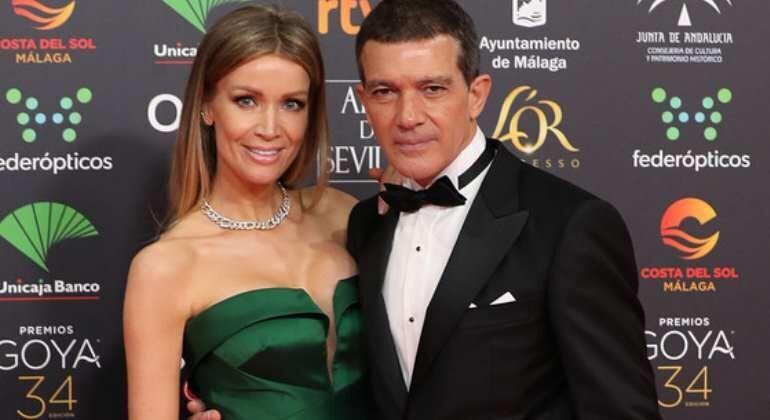 ¿Cuántos años de diferencia se llevan Antonio Banderas y Nicole Kimpel?