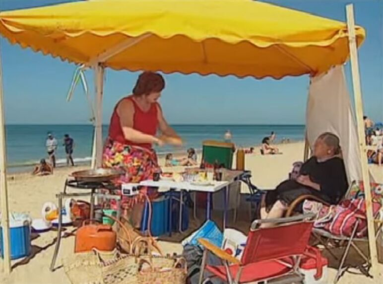 En un día de playa con la familia, no te puede faltar...